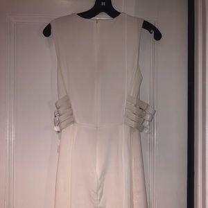 A.L.C. Dresses - A.L.C White Buckle Dress 2 Corset Style